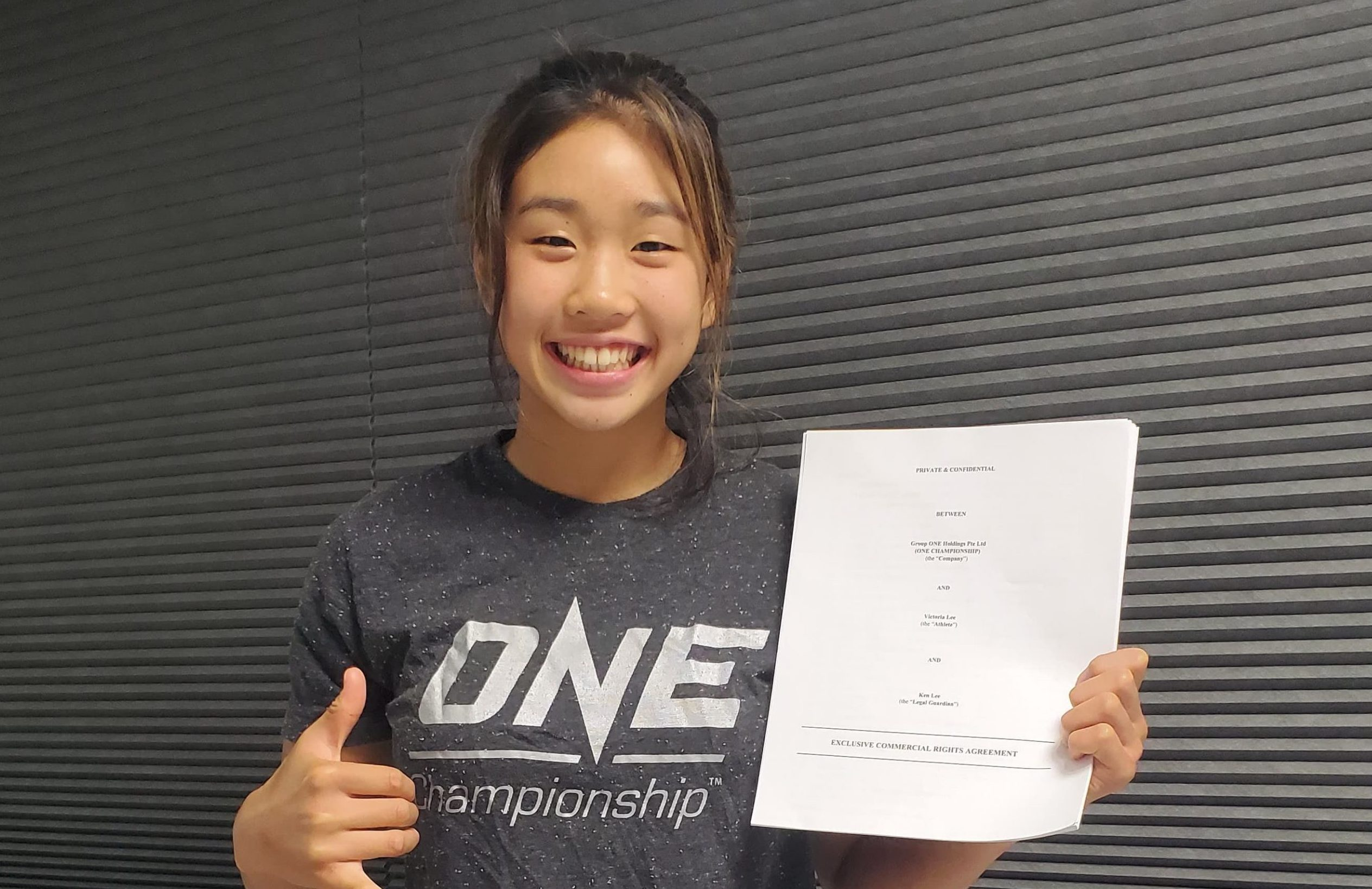 ONE Championship Signs 16 Year Old Phenom!