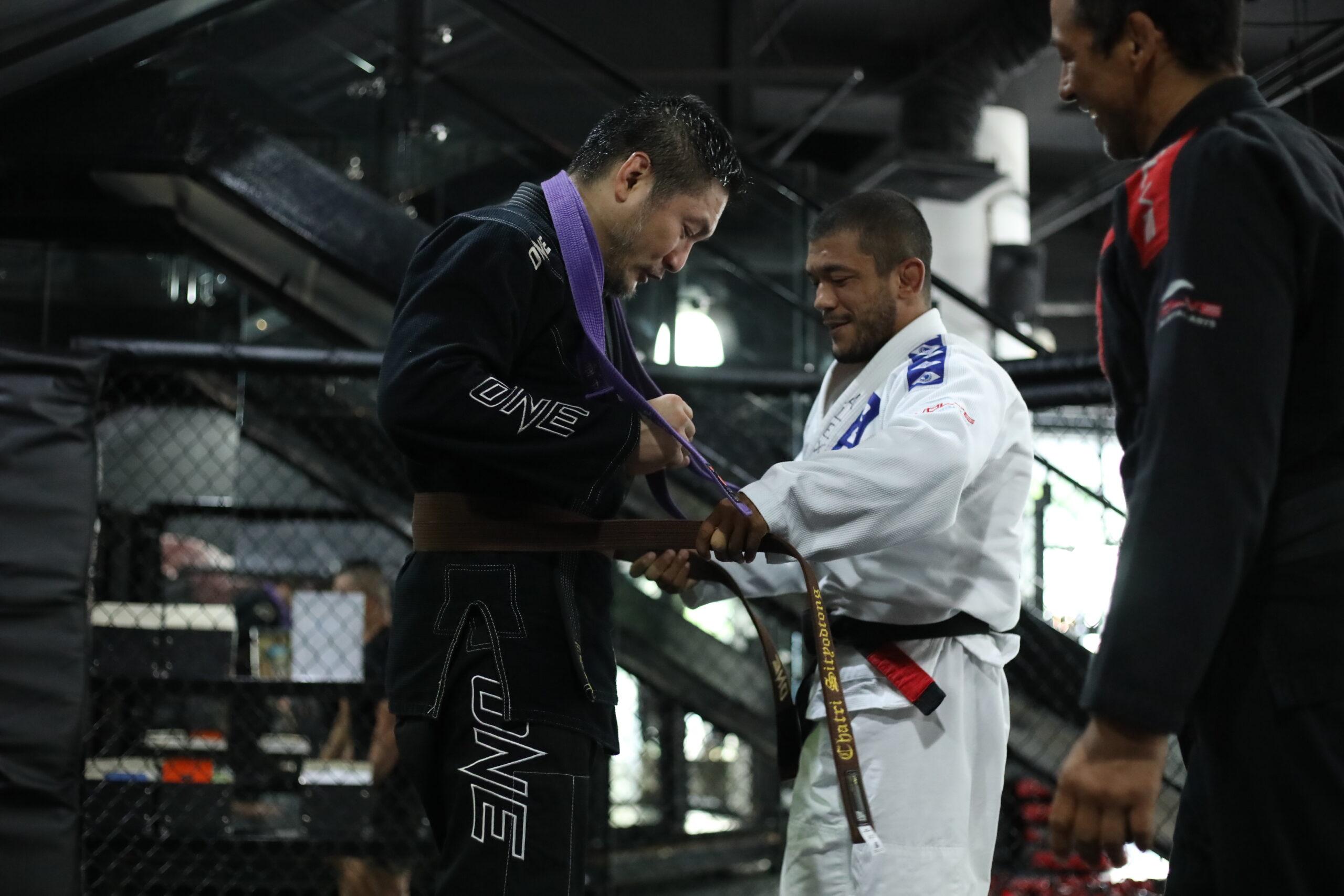 I Received My Brown Belt In Jiu-Jitsu!